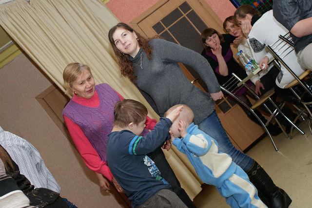 Дети с синдромом дауна фото