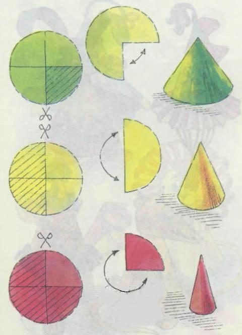 Как сделать елку конус из картона своими руками